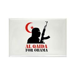 Al Qaida for Obama Rectangle Magnet (100 pack)