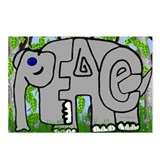 Peace Elephant Postcards (Package of 8)