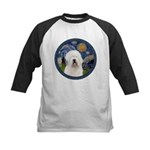 Starry Old English (#3) Kids Baseball Jersey
