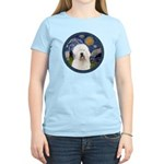 Starry Old English (#3) Women's Light T-Shirt
