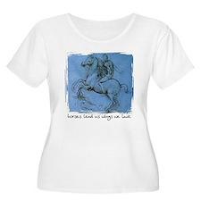Horses Lend Us Wings - T-Shirt
