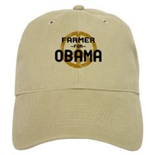 Farmer for Obama Baseball Cap