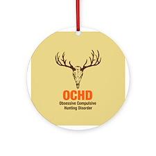 OCHD Obsessive Hunting Ornament (Round)