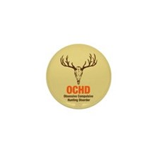 OCHD Obsessive Hunting Mini Button (100 pack)