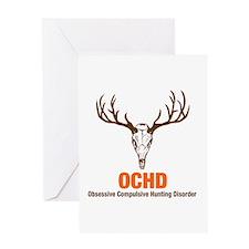 OCHD Obsessive Hunting Greeting Card