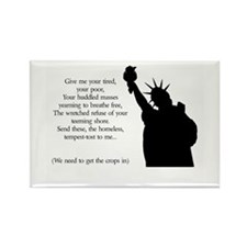 Statue of Liberty - Immigrati Rectangle Magnet