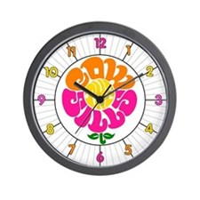 Cowsill Logo (Brights) Wall Clock