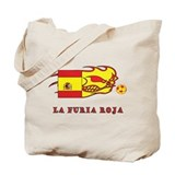Whooligan Spain &quot;La Furia Roja&quot; Tote Bag