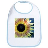 Yellow Daisy Watercolor Bib