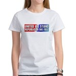 United we stand Republican we Women's T-Shirt