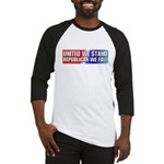 United we stand Republican we Baseball Jersey