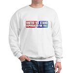 United we stand Republican we Sweatshirt