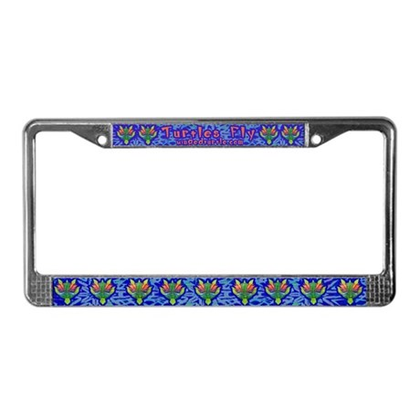 Flying Turtle License Plate Frame