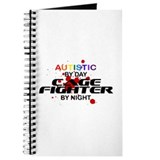 Autistic Cage Fighter by Night Journal