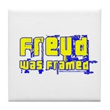He Was Framed Tile Coaster