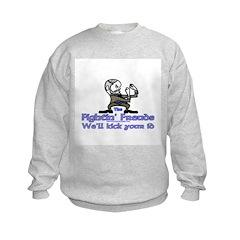 Mascot Kick Your Id Kids Sweatshirt