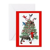Springer spaniel christmas Greeting Card