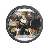 A Bar at the Folies-Bergère Wall Clock