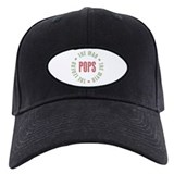 Pops Man Myth Legend Baseball Cap