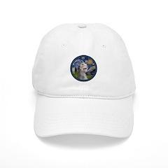 Starry Irish Wolfhound Cap