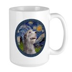 Starry Irish Wolfhound Large Mug