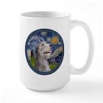Starry Irish Wolfhound Large Mug