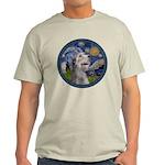 Starry Irish Wolfhound Light T-Shirt