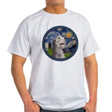 Starry Irish Wolfhound T-Shirt