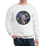 Starry Irish Wolfhound Sweatshirt