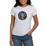 Starry Irish Wolfhound Women's T-Shirt