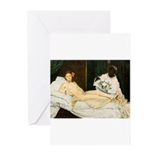 Edouard Manet - Olympia Greeting Cards (Pk of 20)