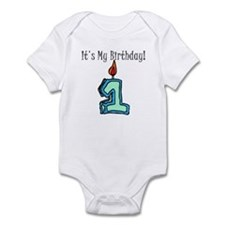 1st Birthday Boy Infant Bodysuit