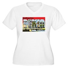 Pekin Illinois Greetings (Front) T-Shirt