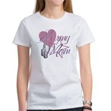Army Mom Heart N Star Tee
