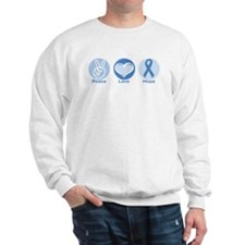 Peace LtBl Hope Sweatshirt