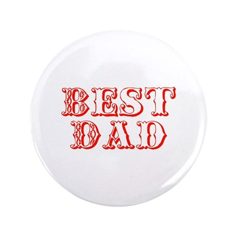 "Father's Day Best Dad 3.5"" Button (100 pack)"