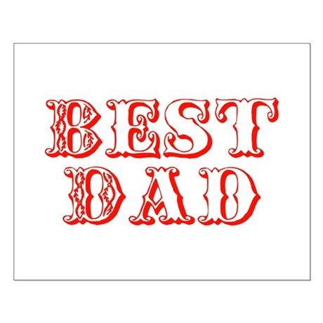 Father's Day Best Dad Small Poster