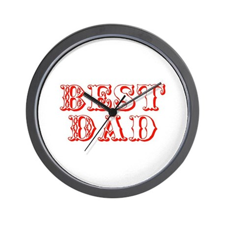 Father's Day Best Dad Wall Clock