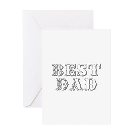 Father's Day Best Dad Greeting Card