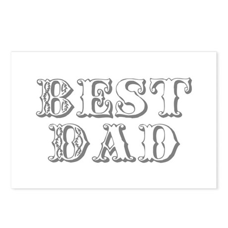 Father's Day Best Dad Postcards (Package of 8)