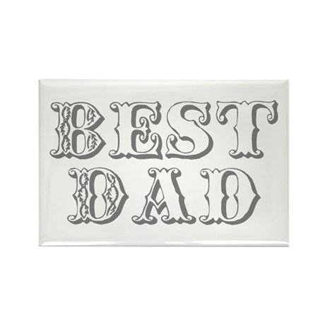 Father's Day Best Dad Rectangle Magnet (100 pack)