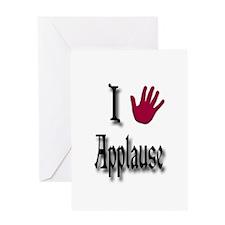 Love Applause Greeting Card