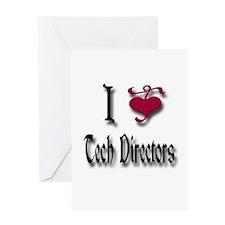 Love Tech Directors Greeting Card