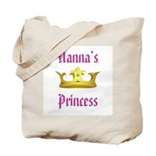 Nanna's Princess Tote Bag