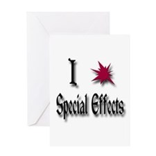 Love Special Effects Greeting Card
