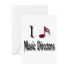 Love Music Directors Greeting Card