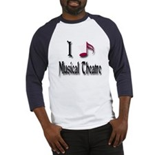 Love Musical Theatre Baseball Jersey