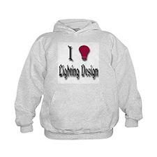 Love Lighting Design Hoodie