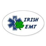 Irish EMT Sticker (Oval 50 pk)