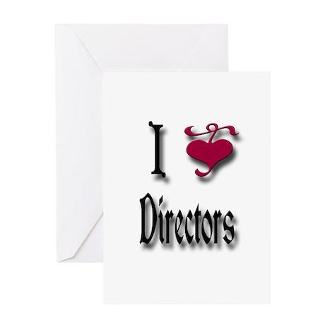 Love Directors Greeting Card